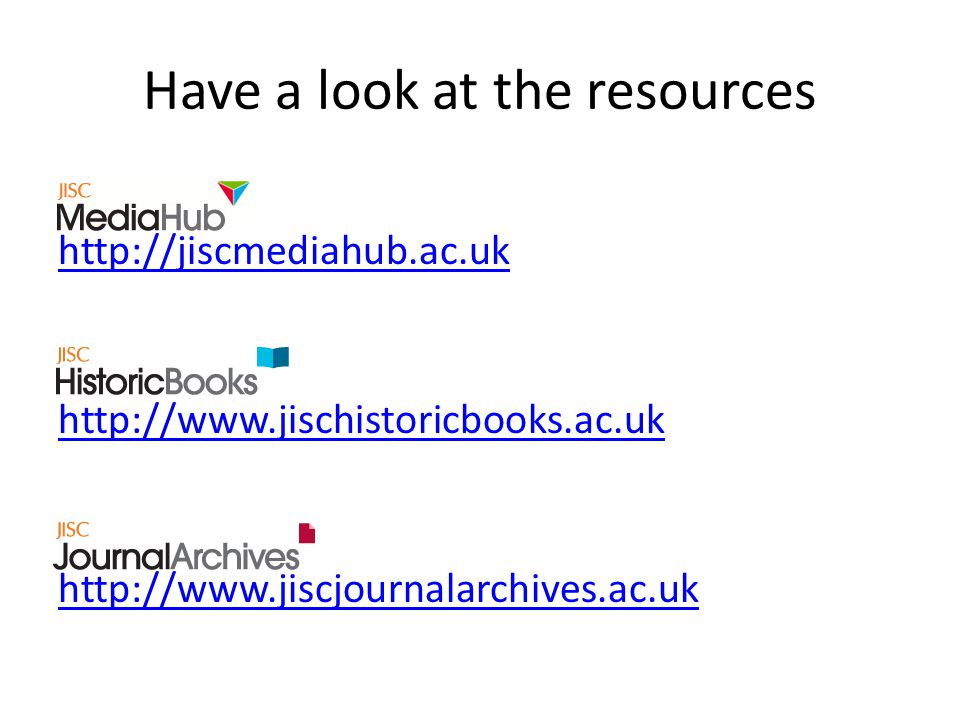 Have a look at the resources