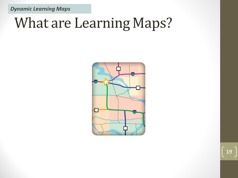 What are Learning Maps 19 Dynamic Learning Maps