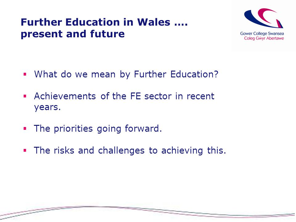 further education in wales present and future mark jones