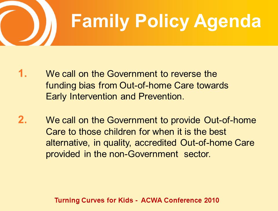 Turning Curves for Kids - ACWA Conference