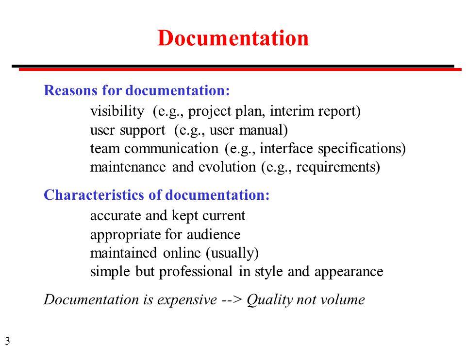 SWE Software Engineering Requirements II Details In - Requirement documentation in software engineering