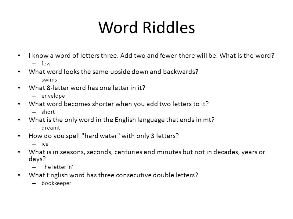 Lecture 18 Reading Riddles And Jokes Review Of Lecture 17 In