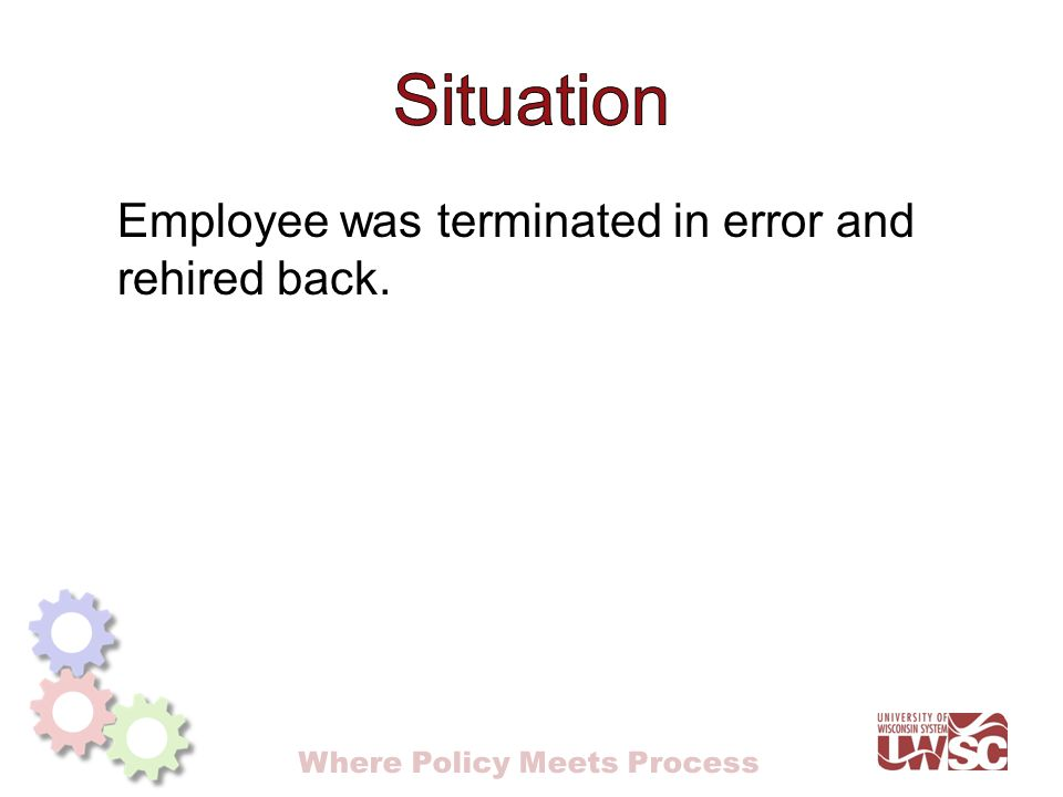 Where Policy Meets Process Presented by: Joanna Bauer  - ppt