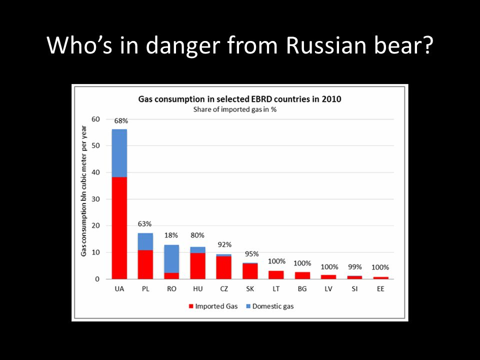 Who's in danger from Russian bear