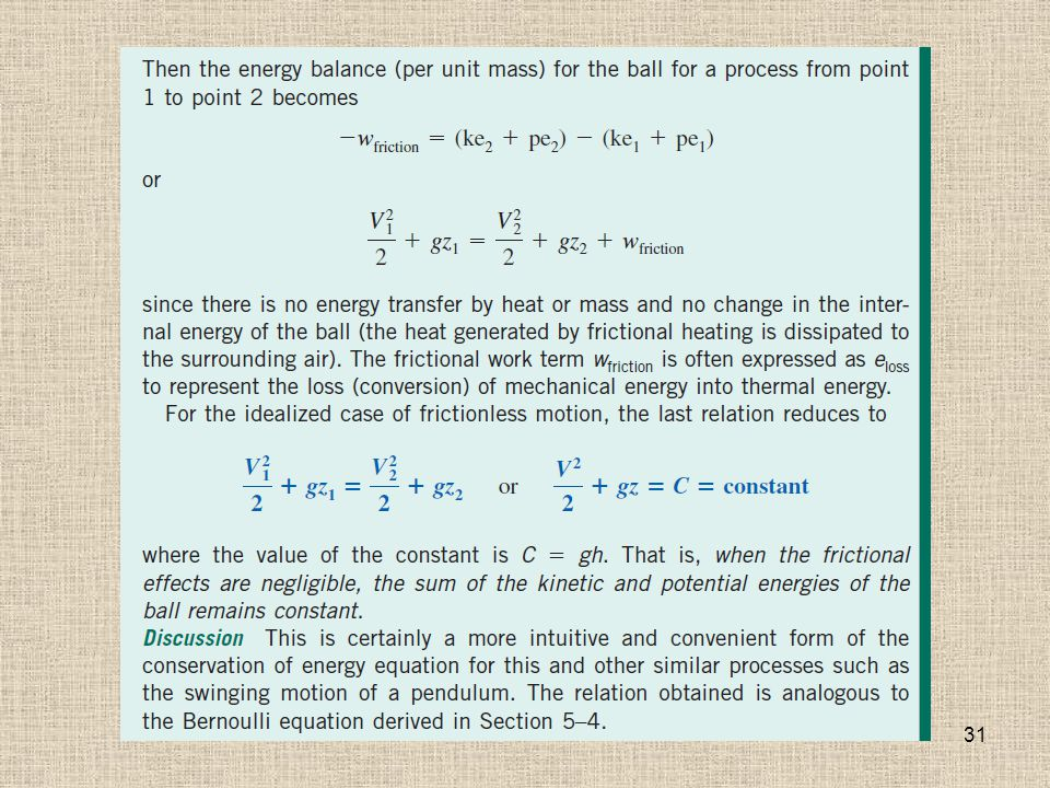 Chapter 5 MASS, BERNOULLI AND ENERGY EQUATIONS - ppt download