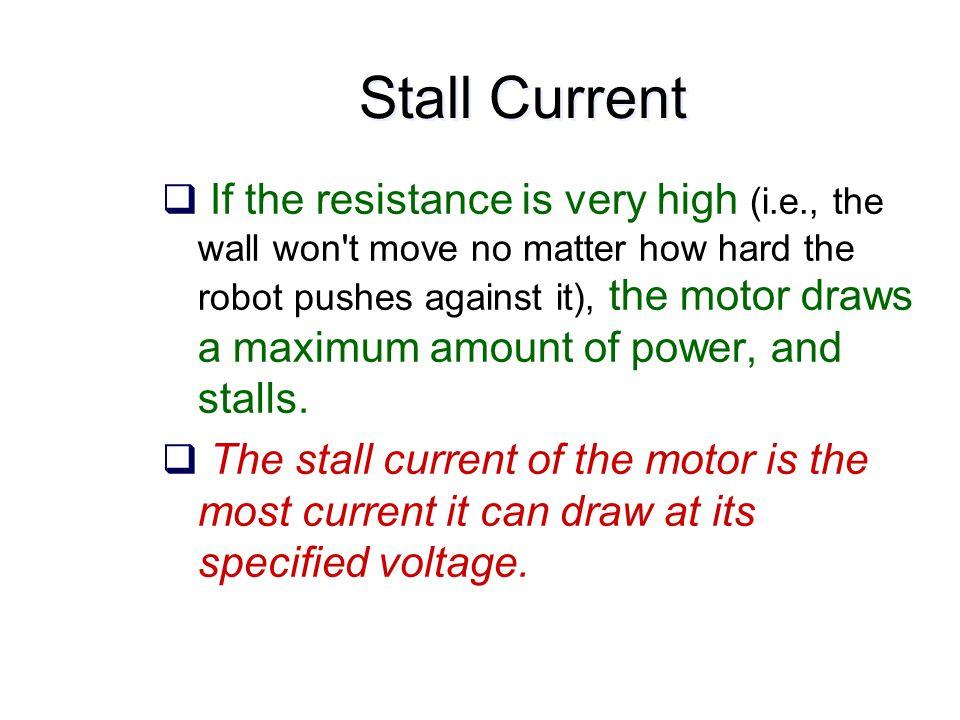 Lecture Outline  DC motors  inefficiencies, operating