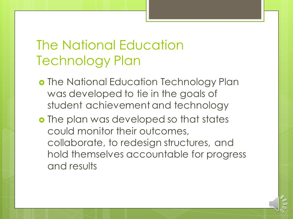 Texas Long Range Plan for Technology  Texas led the nation in it's implementation of the Texas Long Range Plan for today's school.