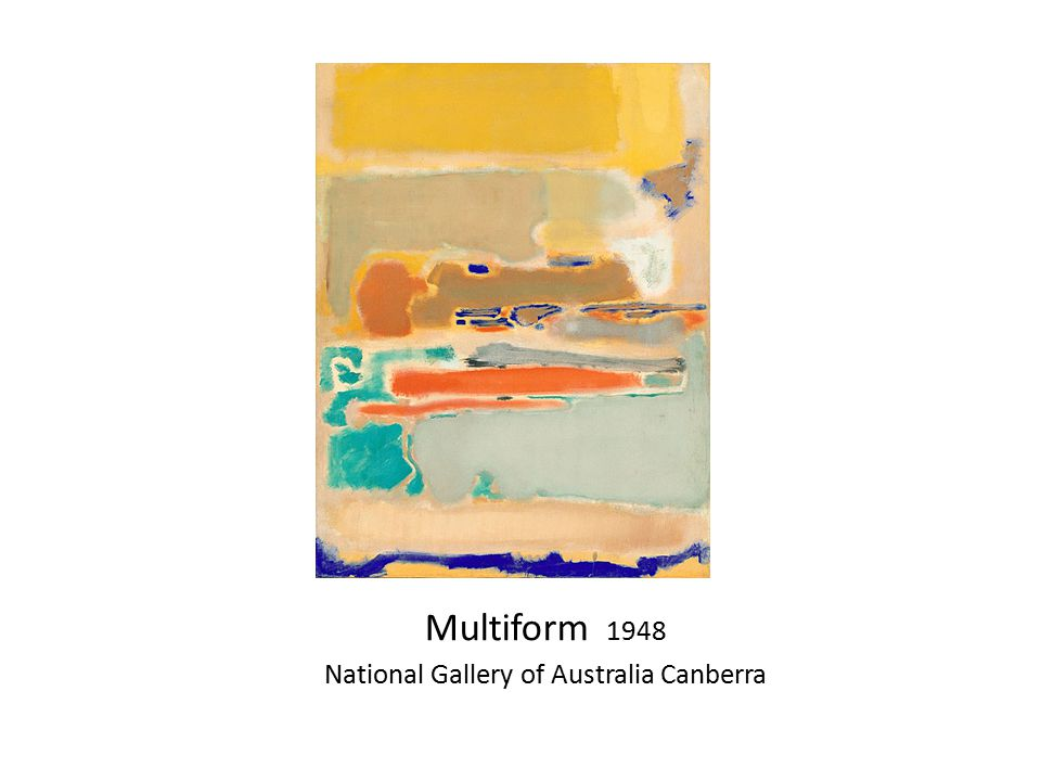 Multiform 1948 National Gallery of Australia Canberra