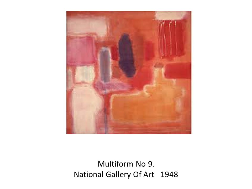Multiform No 9. National Gallery Of Art 1948