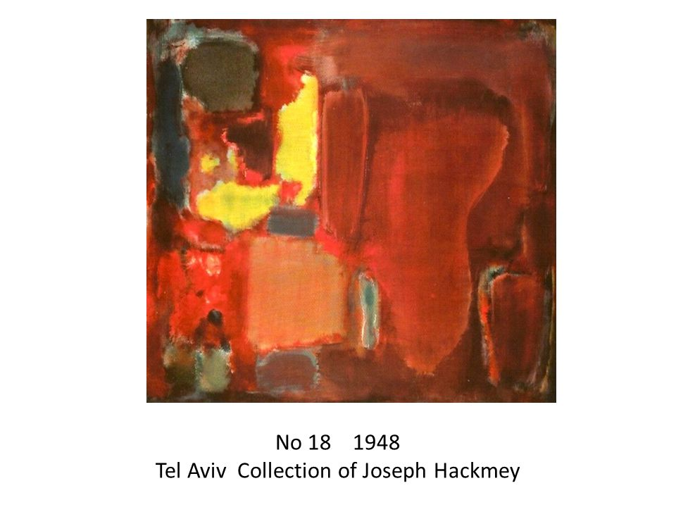 No Tel Aviv Collection of Joseph Hackmey