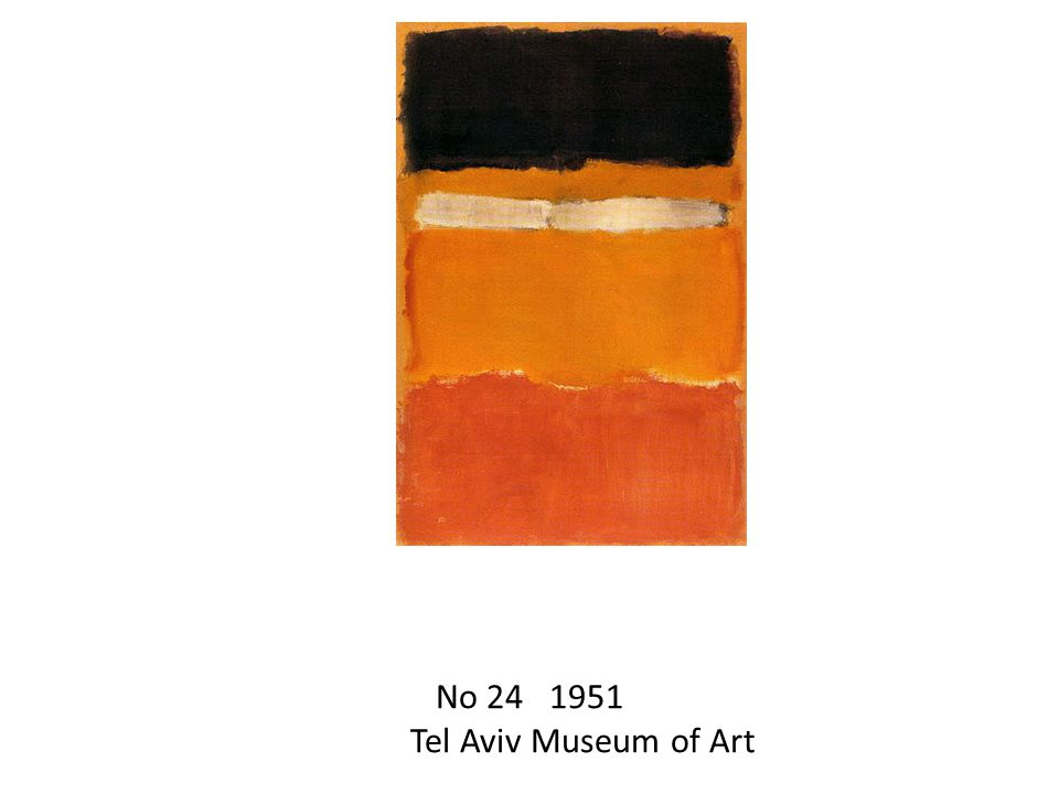 No Tel Aviv Museum of Art
