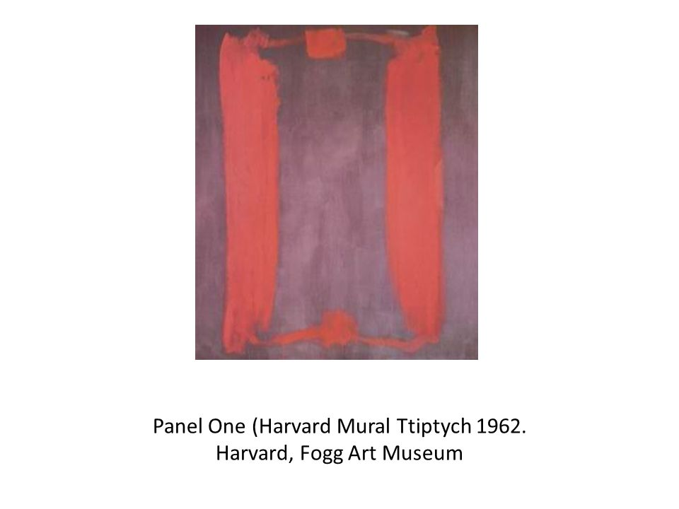 Panel One (Harvard Mural Ttiptych Harvard, Fogg Art Museum