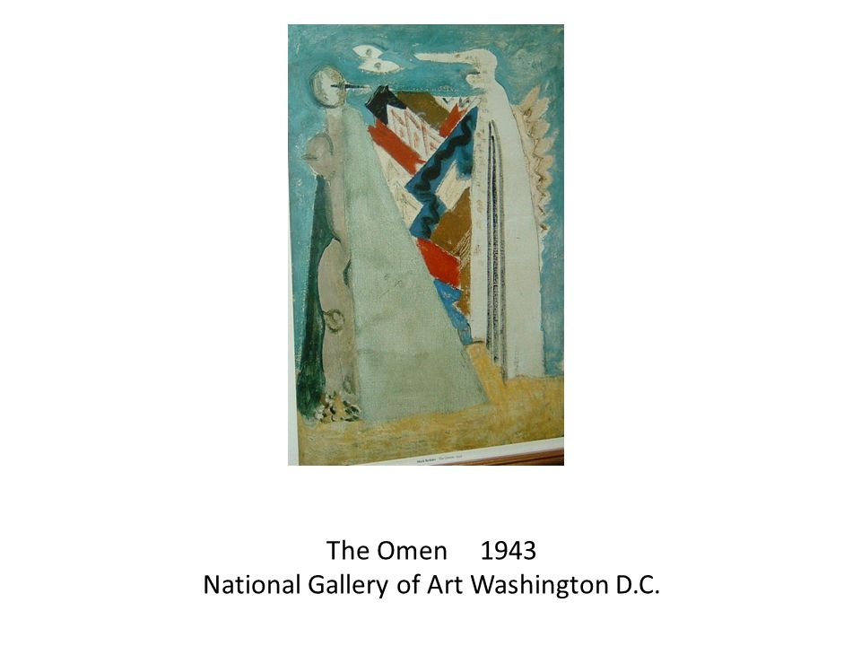 The Omen 1943 National Gallery of Art Washington D.C.
