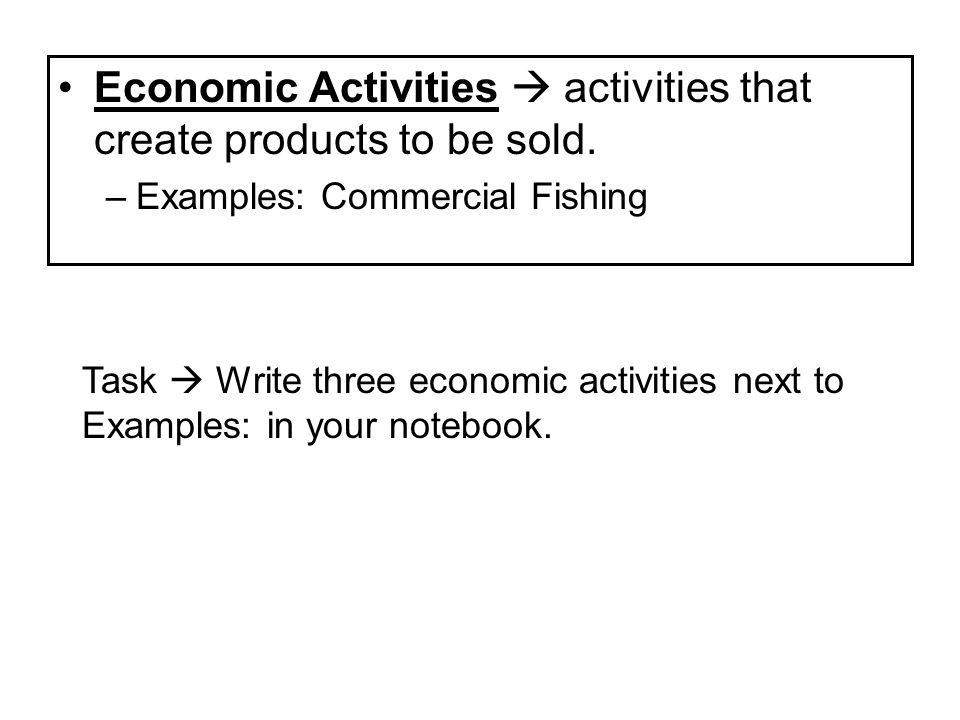 1 Objective Read Swbat Identify The Levels Of Economic Activity