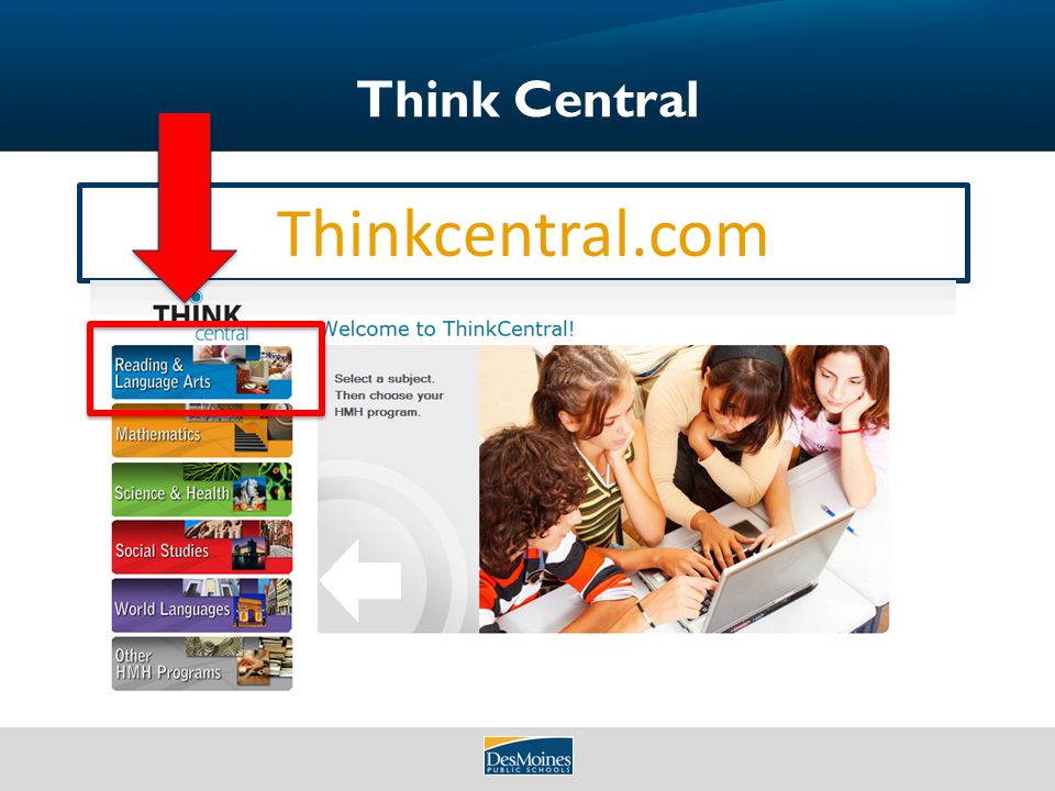Welcome to literacycontent areas technology training be sure to 60 think central thinkcentral fandeluxe Image collections