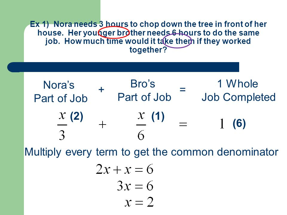 """Today's Date: 11/15/11 """"Work"""" Word Problems Notes on Handout. - ppt ..."""