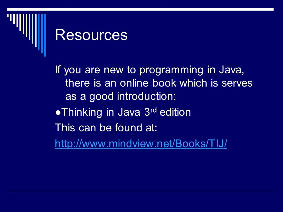 Introduction to Object Oriented Programming Java  - ppt download