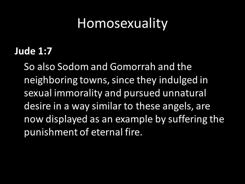 Jude 1 7 homosexuality