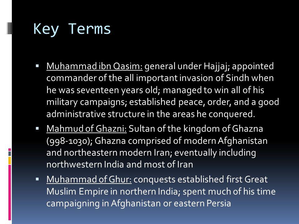 muhammad bin qasim invaded india