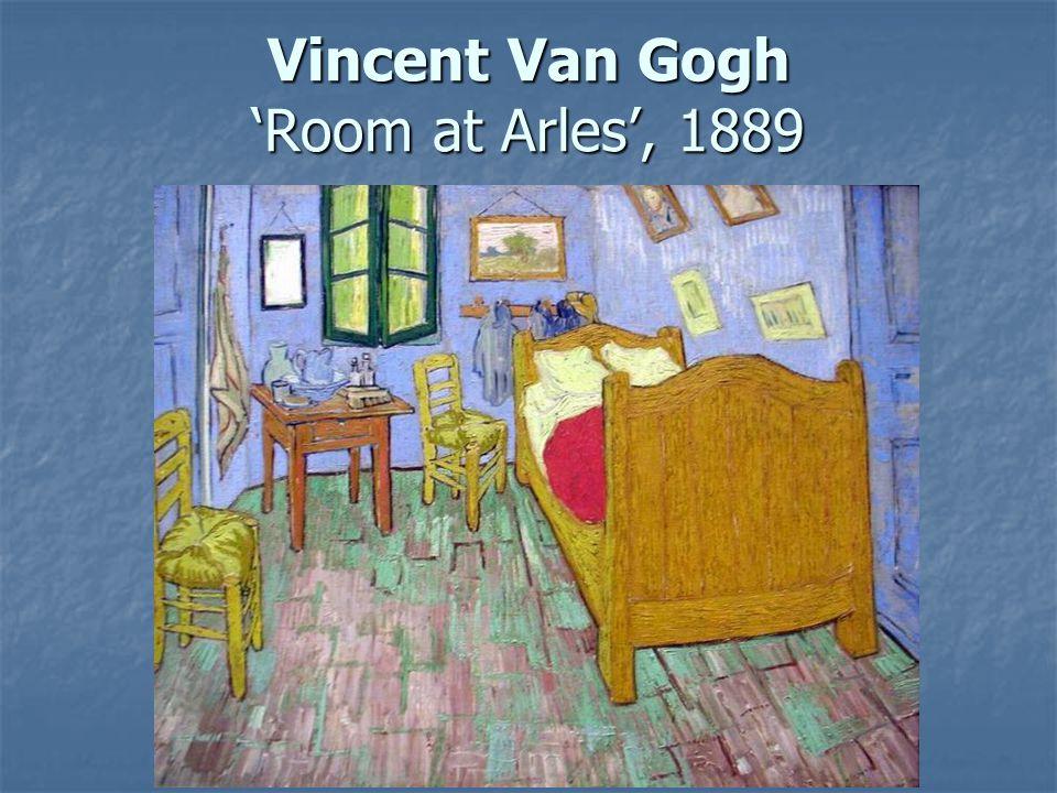 49 Vincent Van Gogh U0027Room At Arlesu0027, 1889