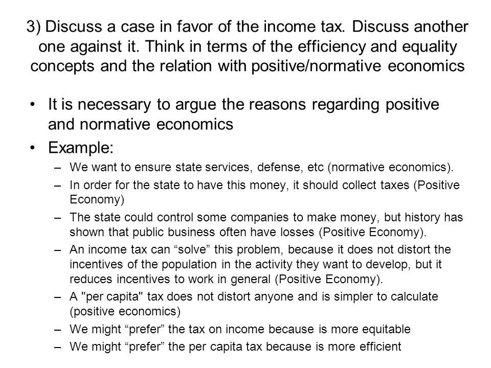 1 Provide Three Original Examples Of Positive Economics And The