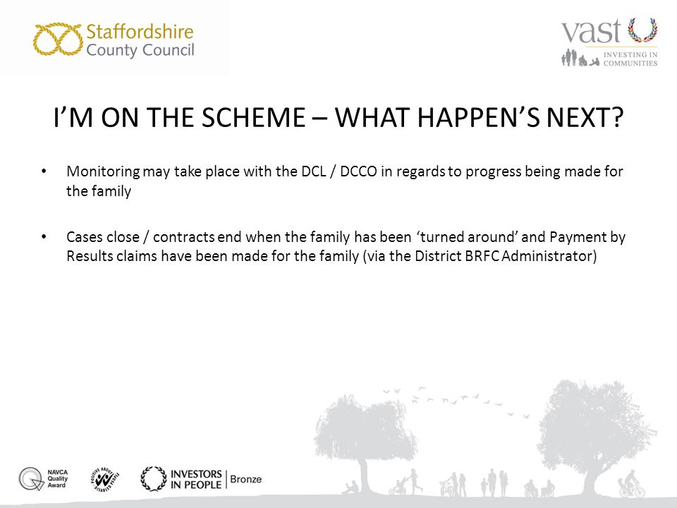 I'M ON THE SCHEME – WHAT HAPPEN'S NEXT.