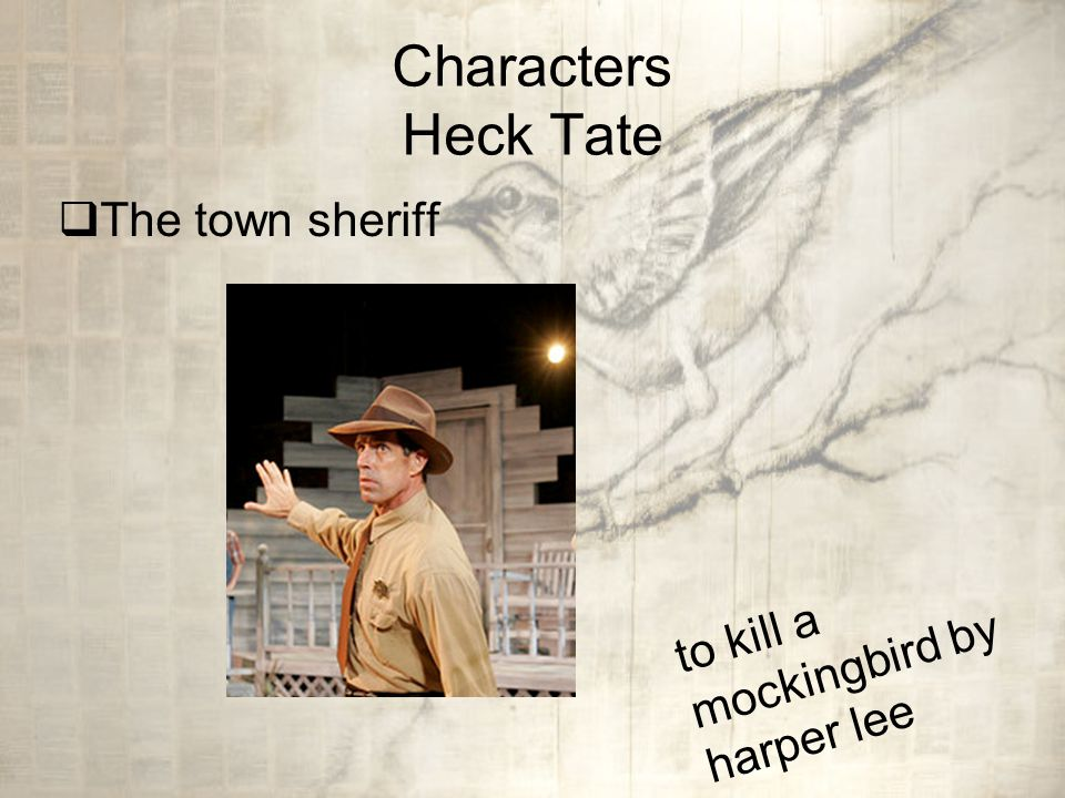 minor characters in to kill a mockingbird In harper lee's to kill a mockingbird minor characters are utilised to explore major themes throughout the novel one of the major themes discussed throughout to kill a mockingbird is prejudice characters within the text all experience prejudice in their lives some are prejudiced and some are.