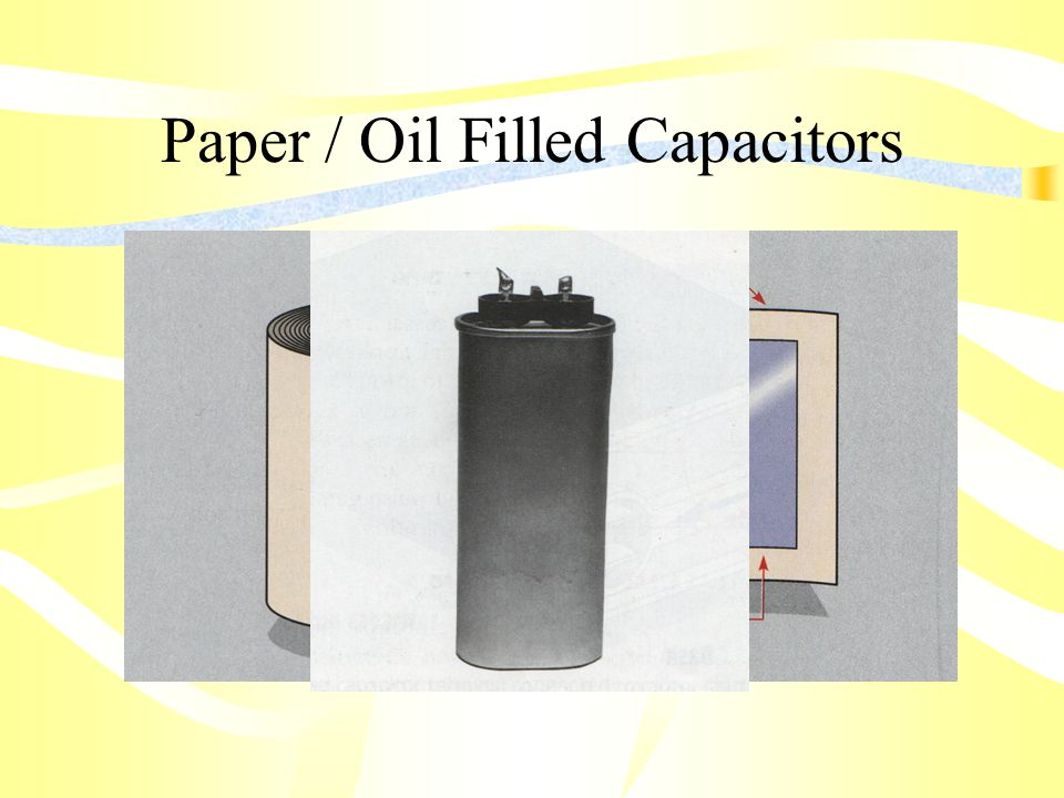Paper / Oil Filled Capacitors