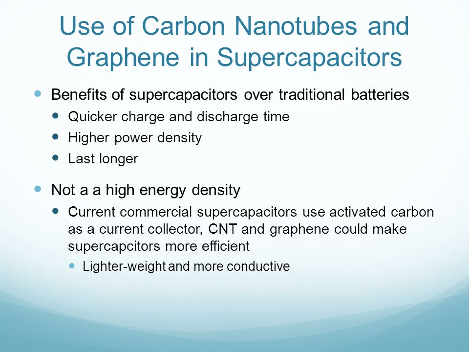 The Significance of Carbon Nanotubes and Graphene in