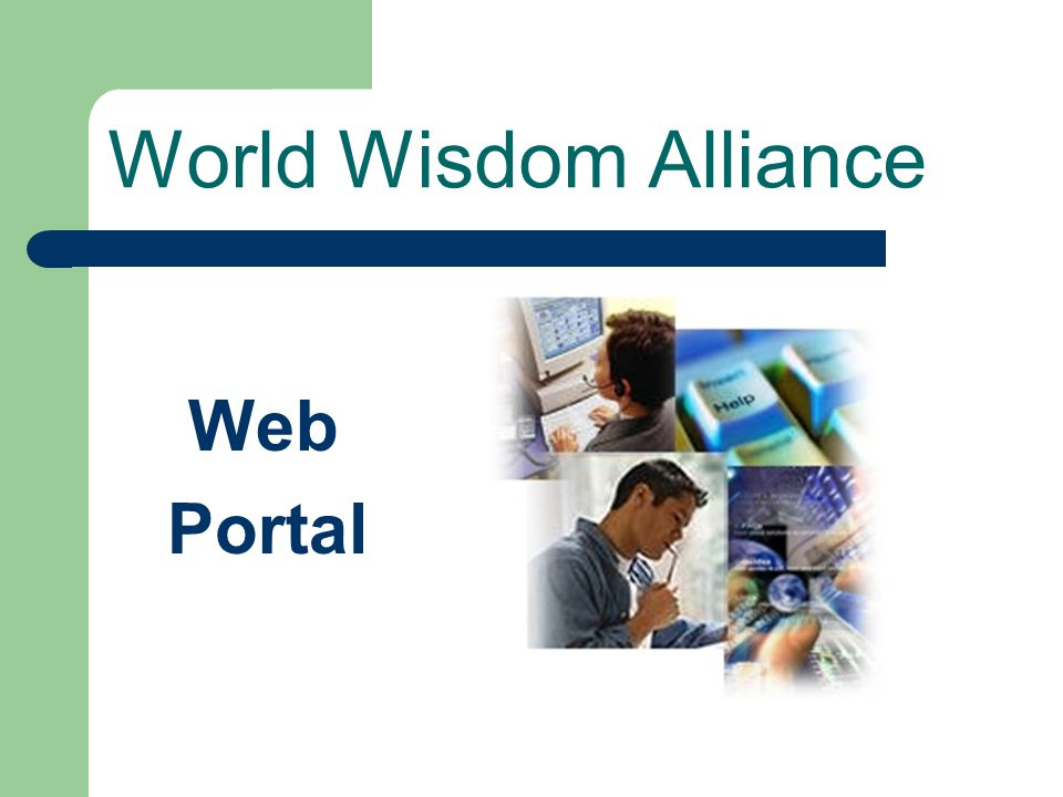World Wisdom Alliance Web Portal