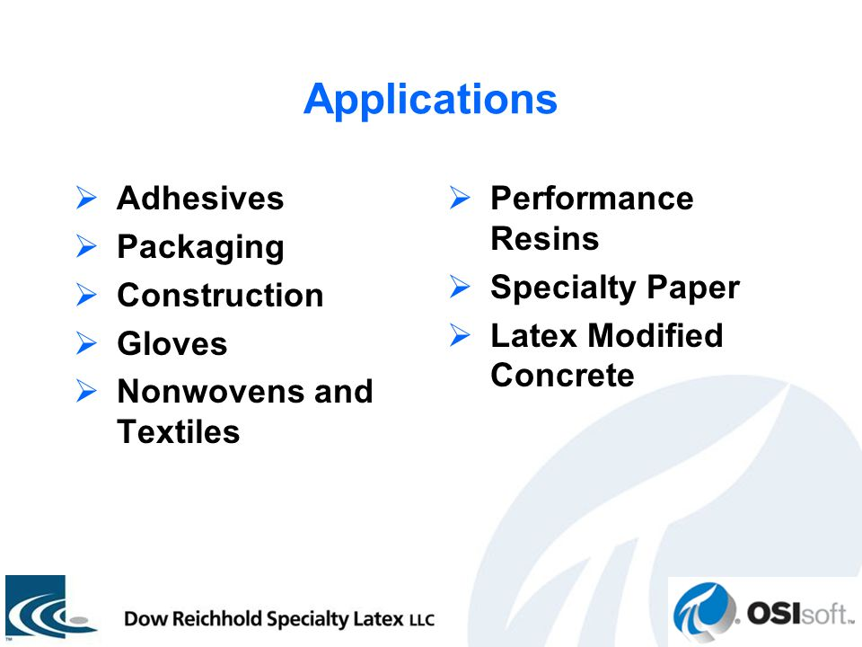 Dow reichhold specialty latex llc