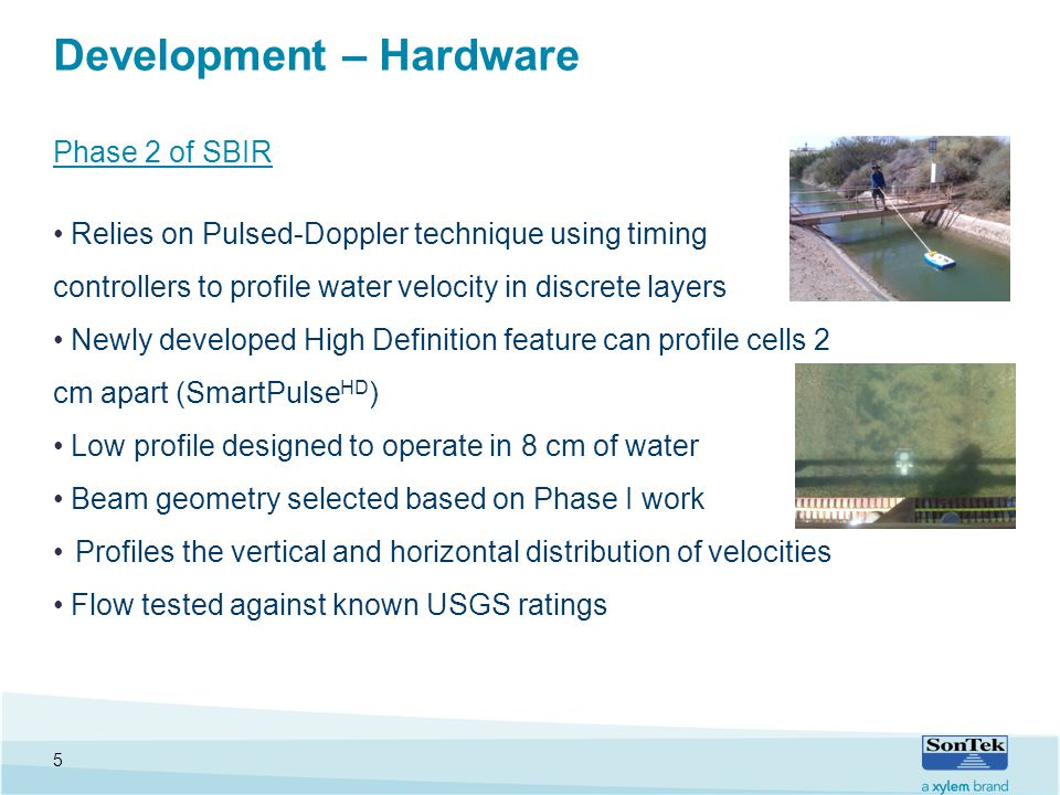 Improved Water Resource Management Using an Acoustic Pulsed