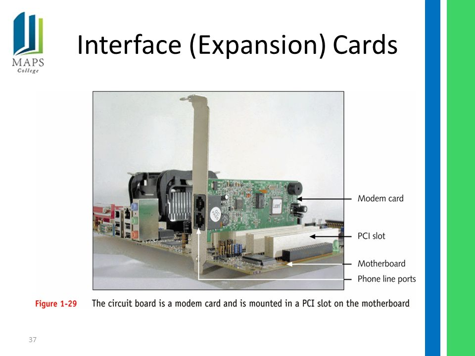 37 Interface (Expansion) Cards