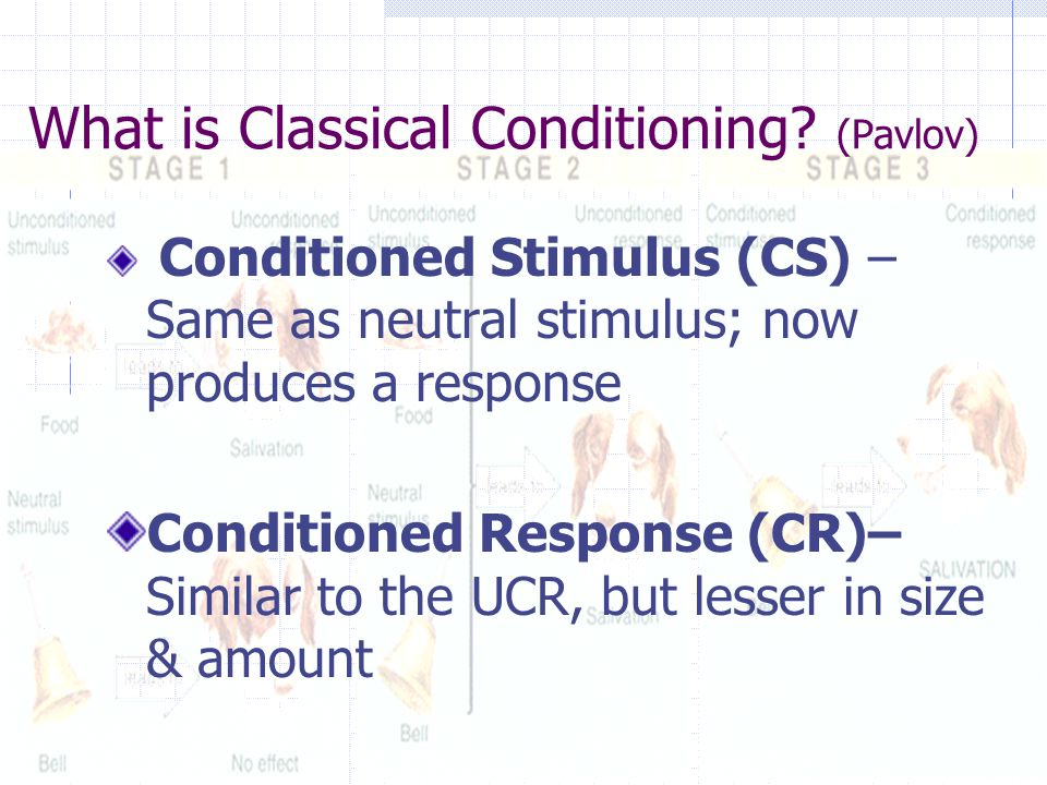 What is Classical Conditioning.