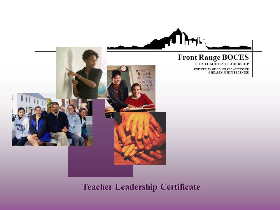 Teacher Leadership Certificate University Of Colorado At Denver