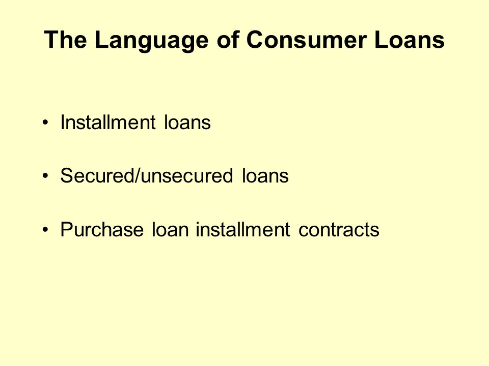 Chapter 7 Planned Borrowing Objectives Discuss The Elements Of The Planned Use Of Credit Establish Your Own Debt Limit Understand The Language Of Ppt Download