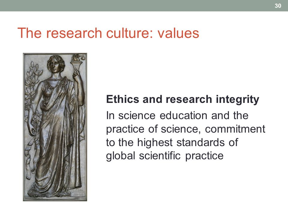 The research culture: values Ethics and research integrity In science education and the practice of science, commitment to the highest standards of global scientific practice 30 A d i f f i c u l t c o n t e x t : P e r s i s t e n t p o v e r t y C h r o n i c g o v e r n m e n t d e b t H i s t o r i c a l l y l o w R & D s p e n d i n g ( < 1.