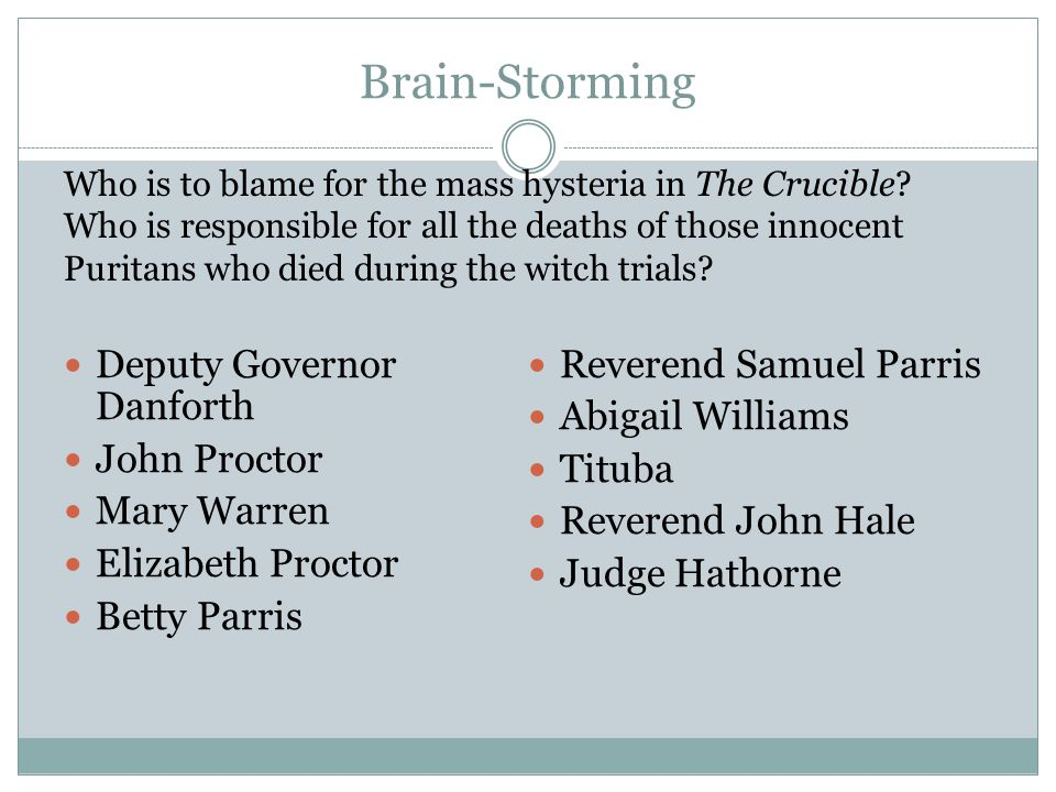 governor danforth the crucible