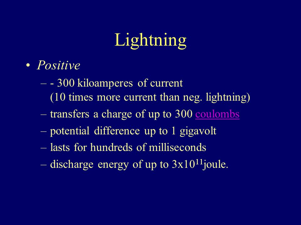 Lightning Stepped Leader: Path of ionized air.