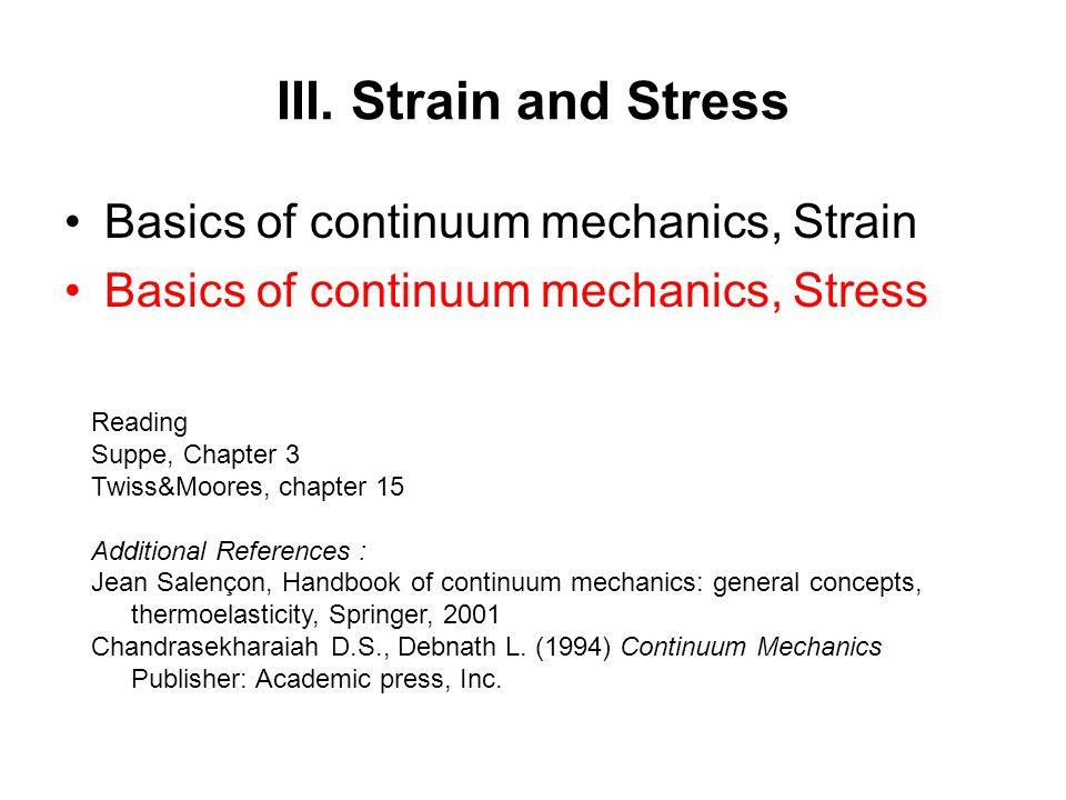 chandrasekharaiah continuum mechanics