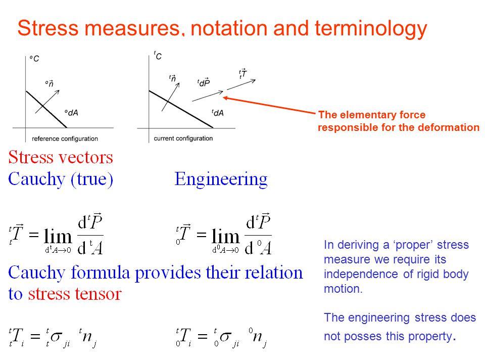 Continuum Mechanics, part 4 Stress_1 Engineering and Cauchy