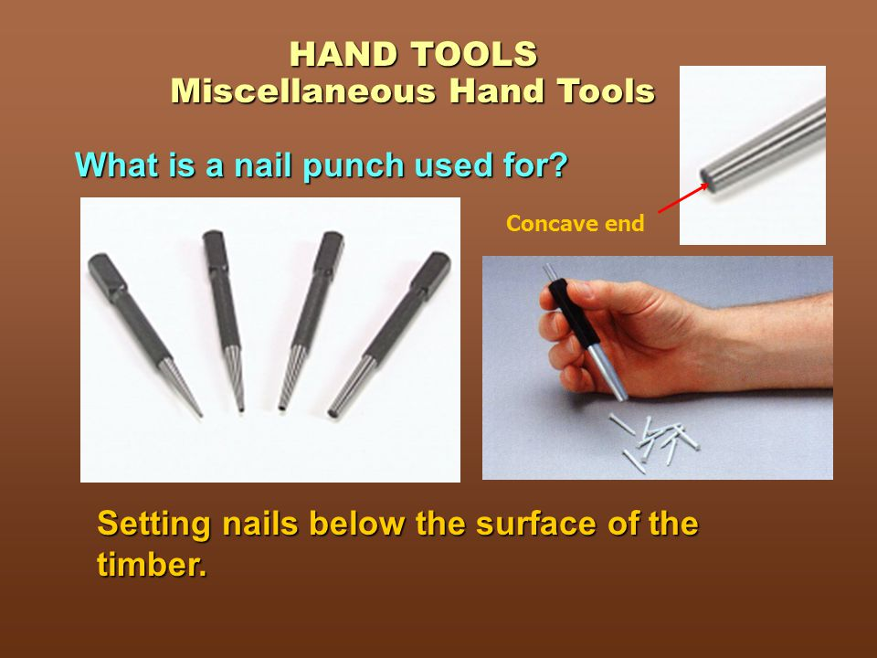HAND TOOLS TOPIC 2 EXTRA… CLICK HERE FOR MORE ON A TOPIC INDUSTRIAL ...