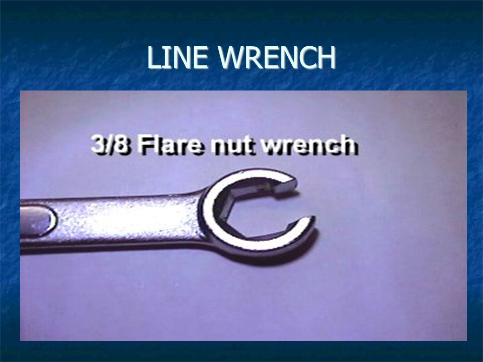 LINE WRENCH