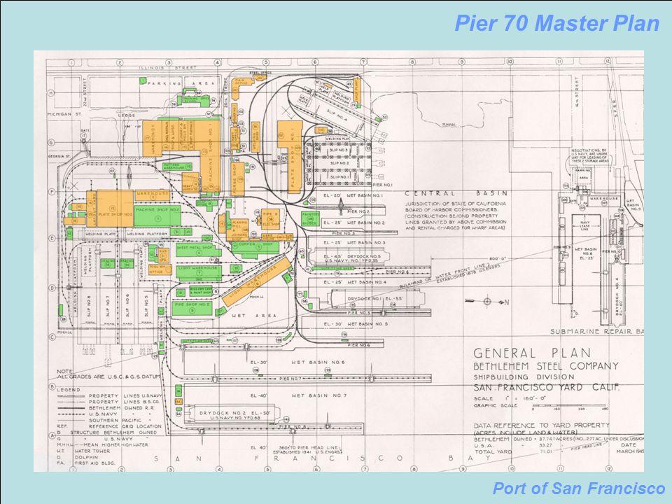 Pier 70 San Francisco Map.Pier 70 Master Plan Port Of San Francisco Pier 70 Master Plan Port