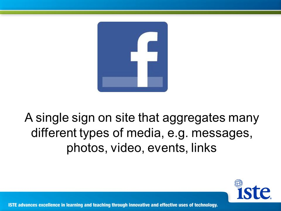 A single sign on site that aggregates many different types of media, e.g.