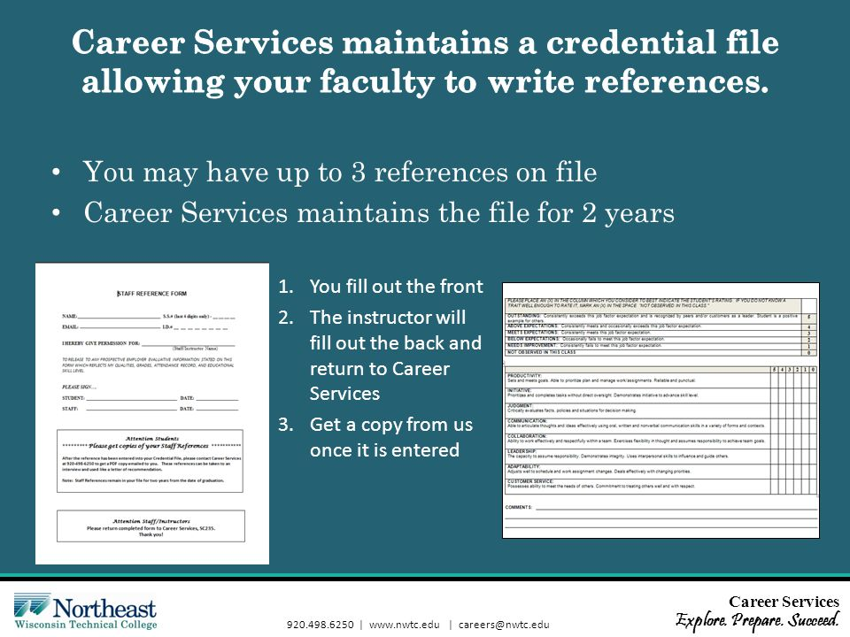Career Services Explore. Prepare. Succeed.