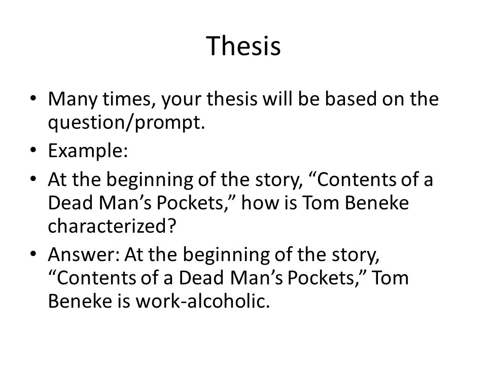 contents of the dead mans pocket questions and answers