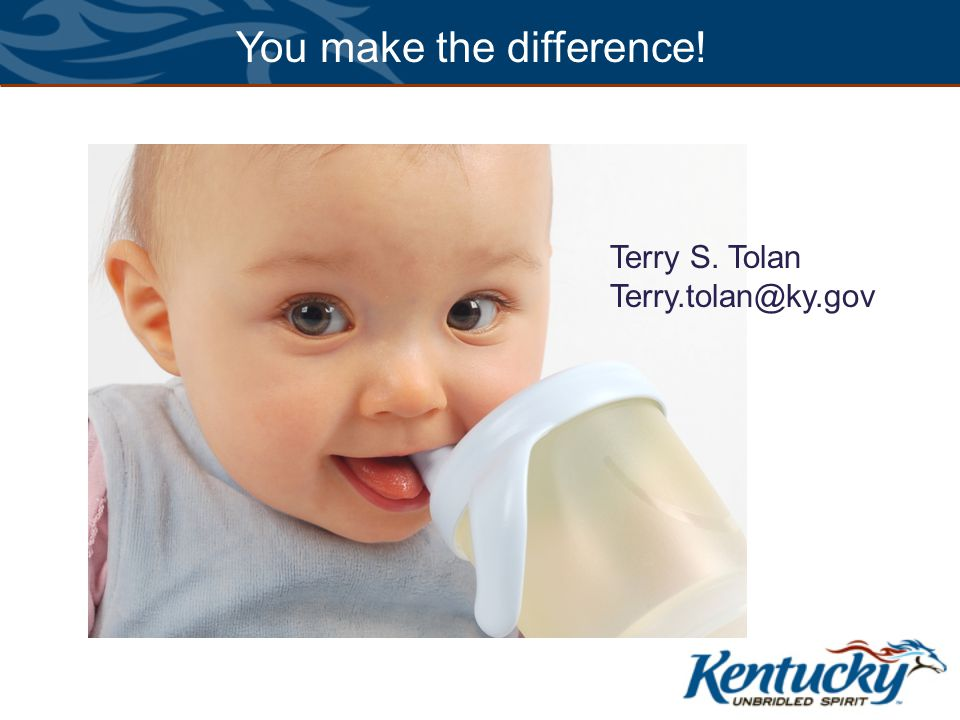 Thanks! You make the difference! Terry S. Tolan