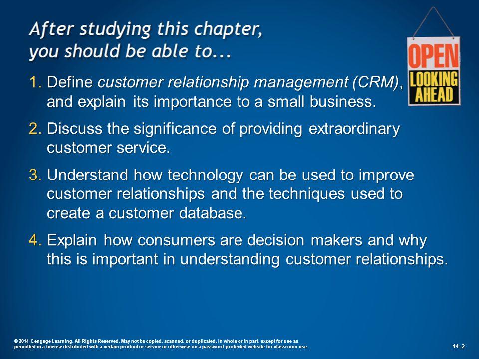 importance of customer database