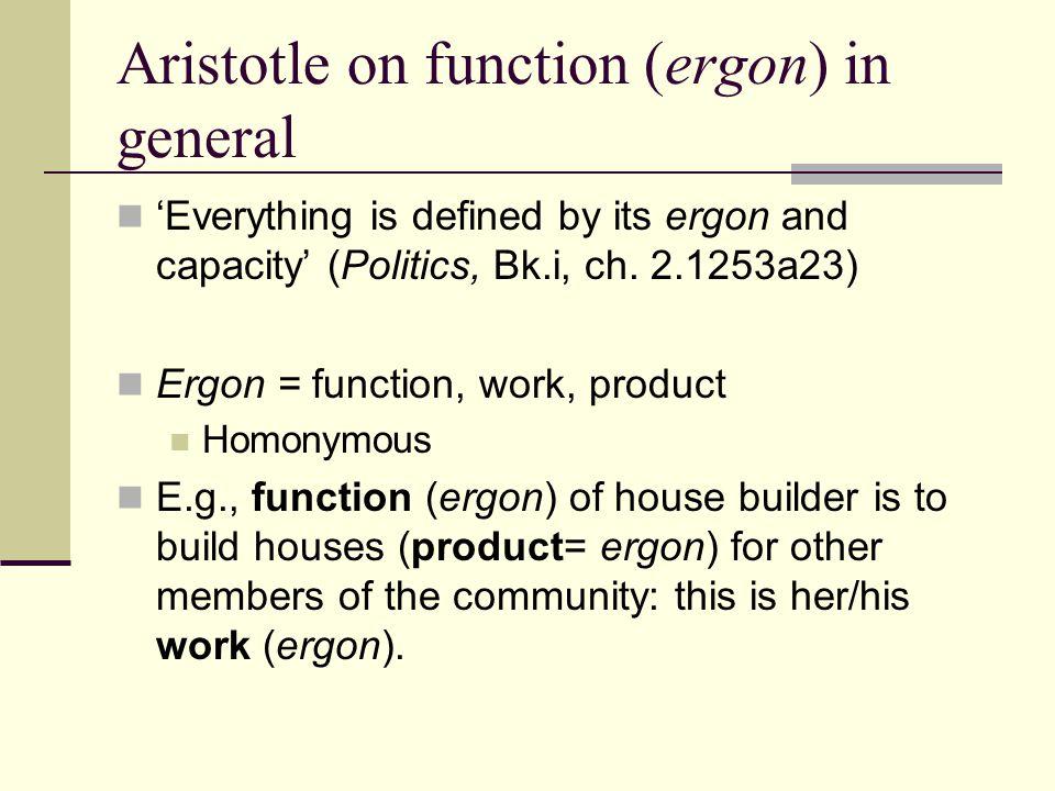ergon aristotle